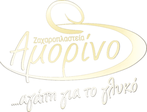 black and white amorino logo